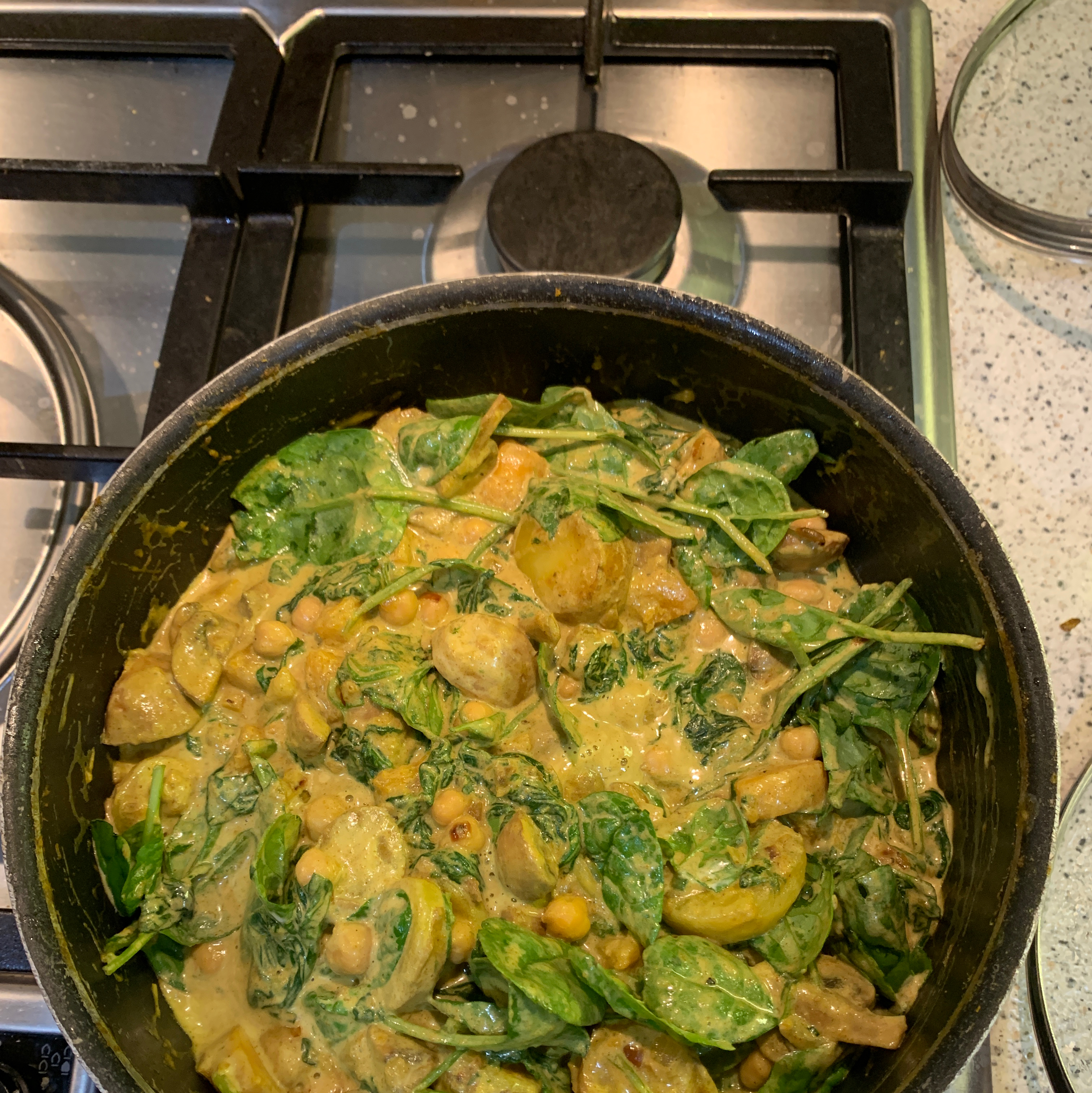 Delicious and Fast Chicken Curry zuzulukitty