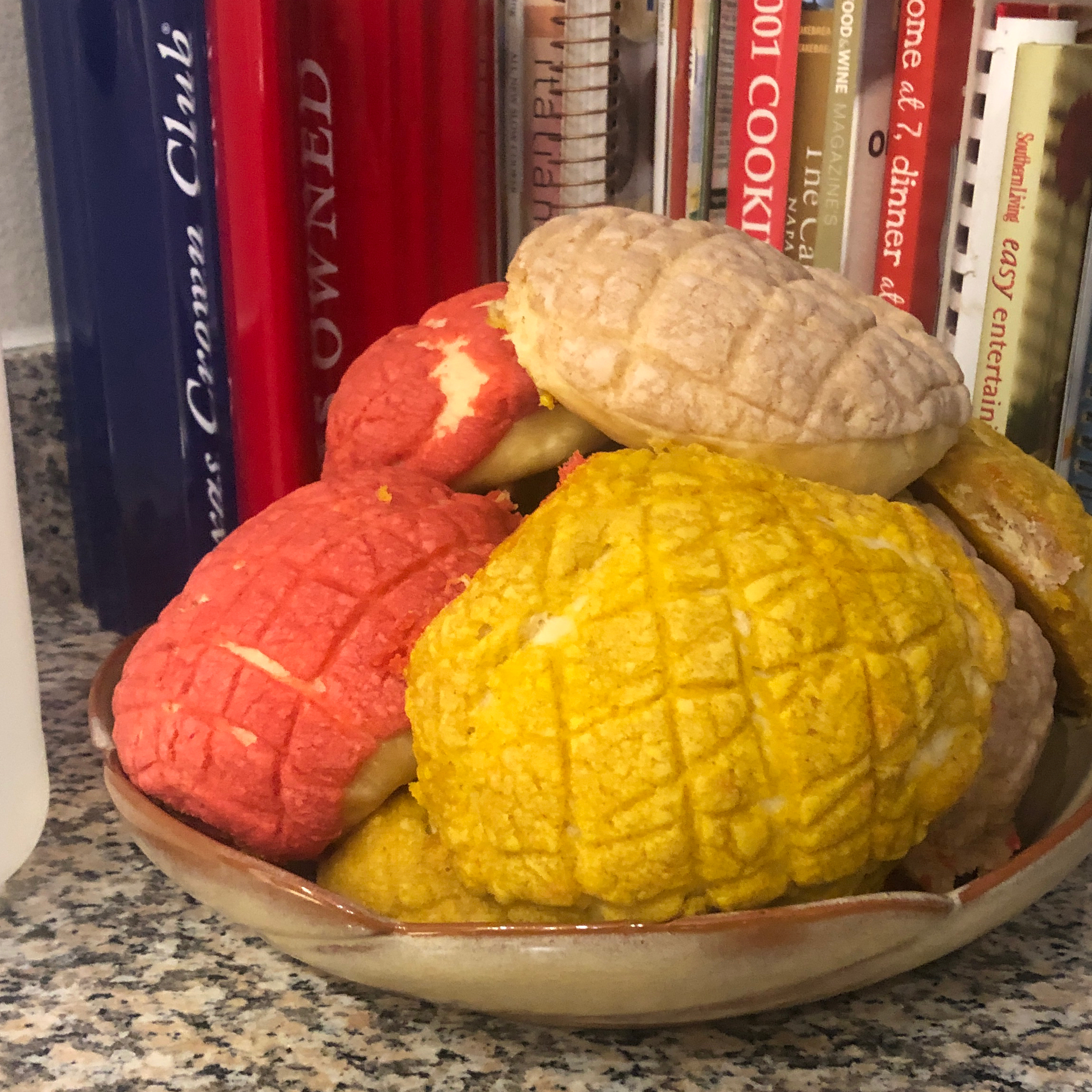 Conchas (Mexican Sweet Bread)