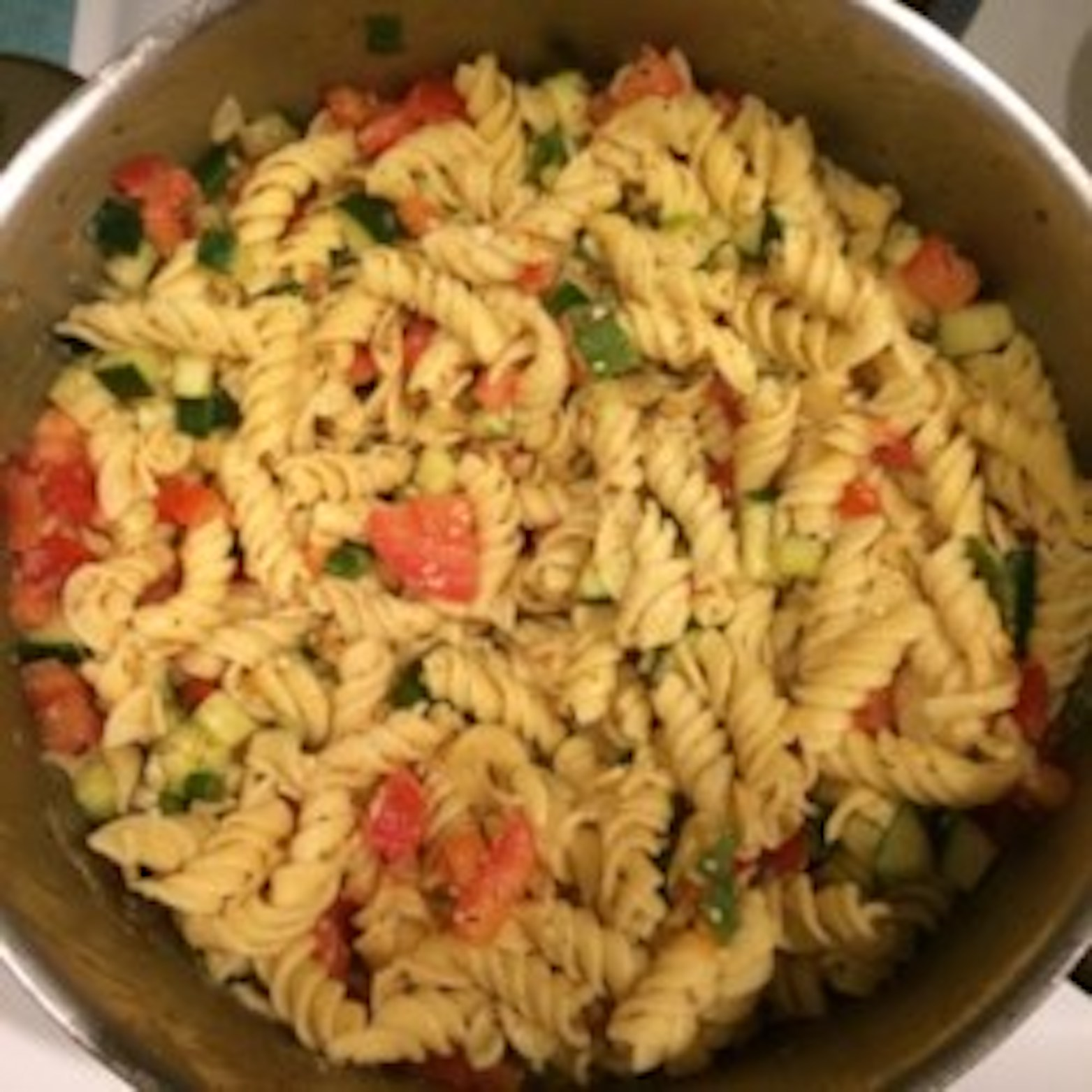 Simple Pasta Salad HaileyRenee