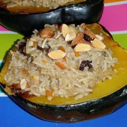 Moroccan-Style Stuffed Acorn Squash Momi