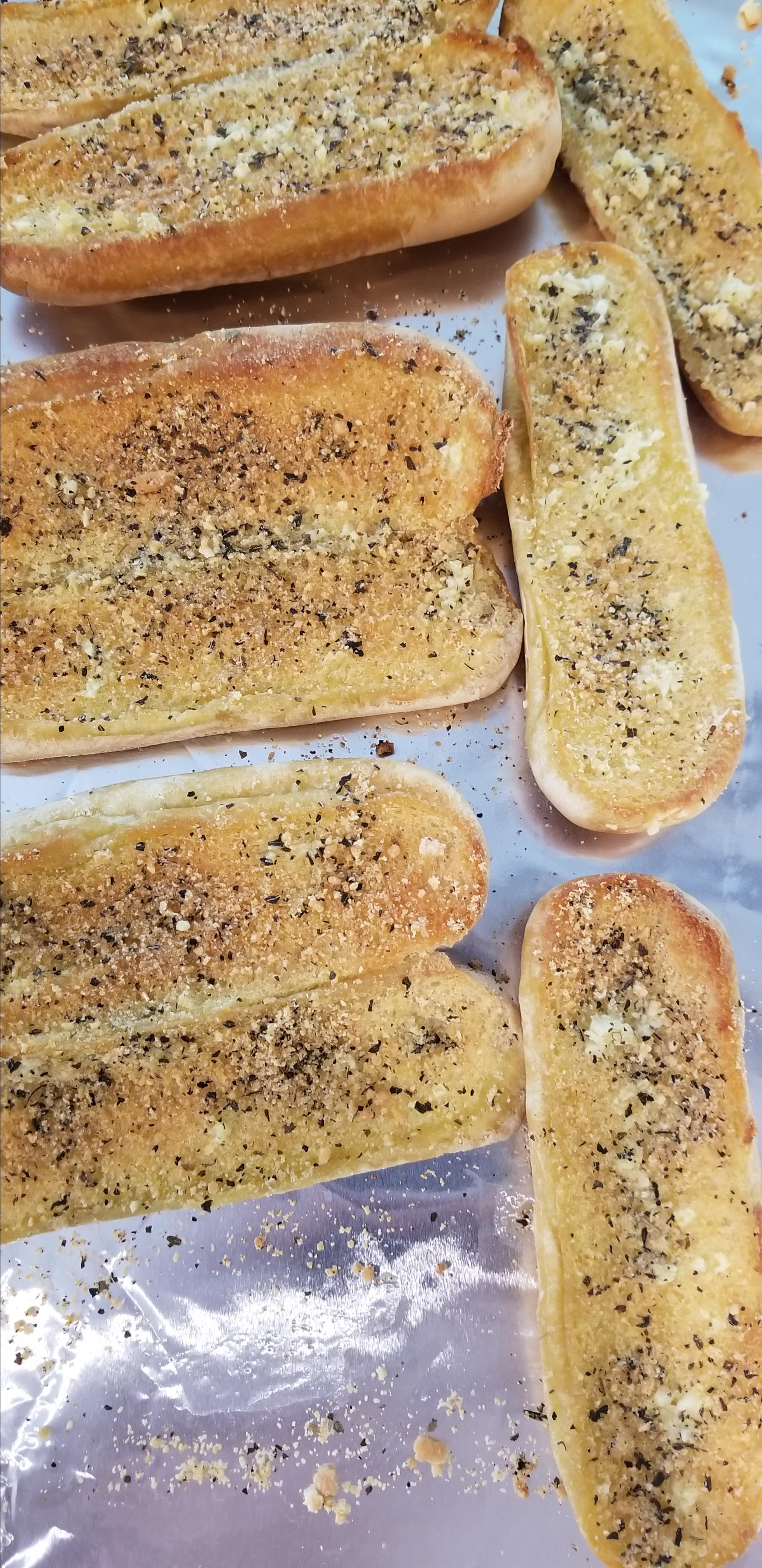 Quick Garlic Breadsticks Aileen Yan