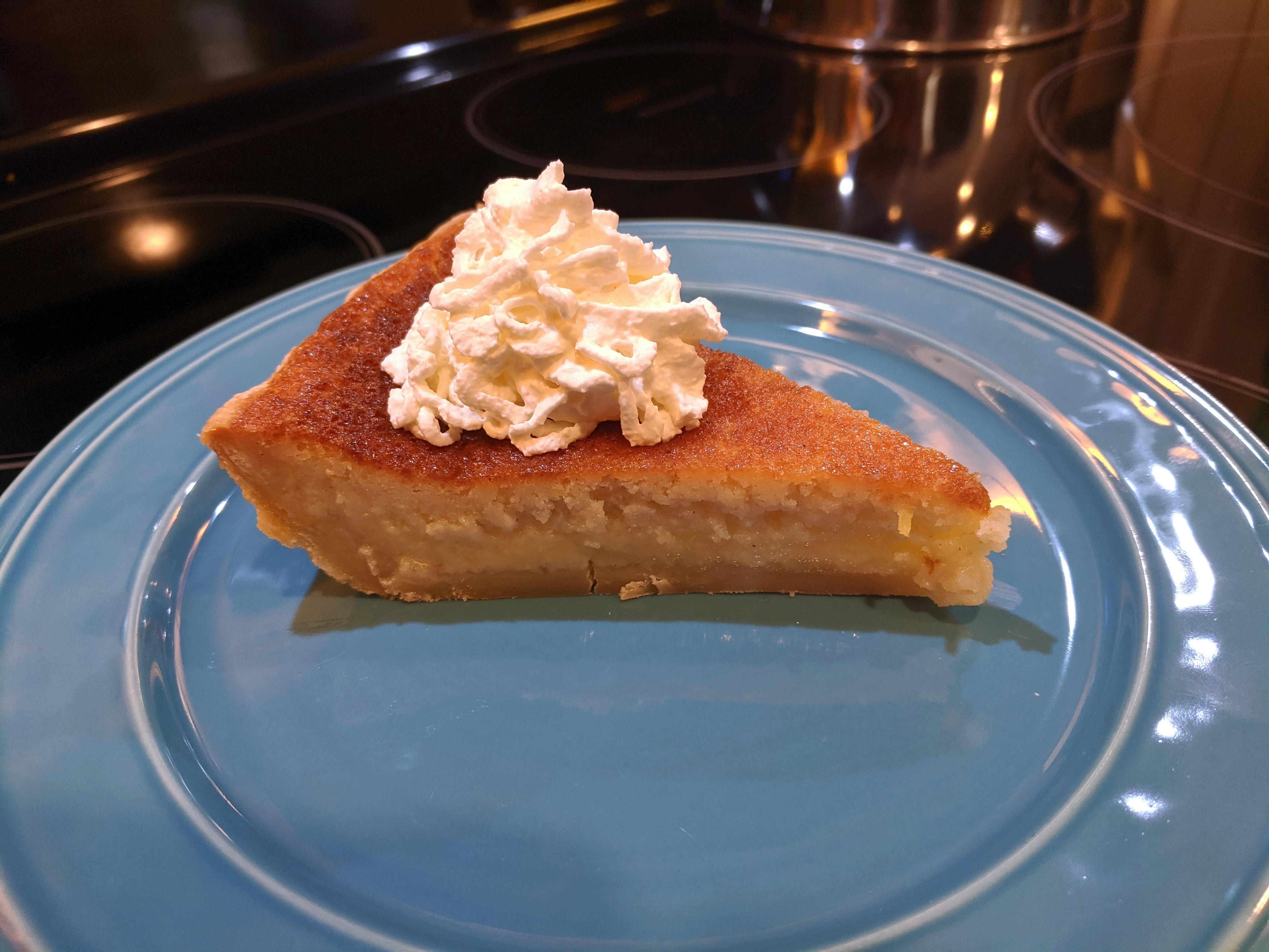 Chef John's Buttermilk Pie tommytg