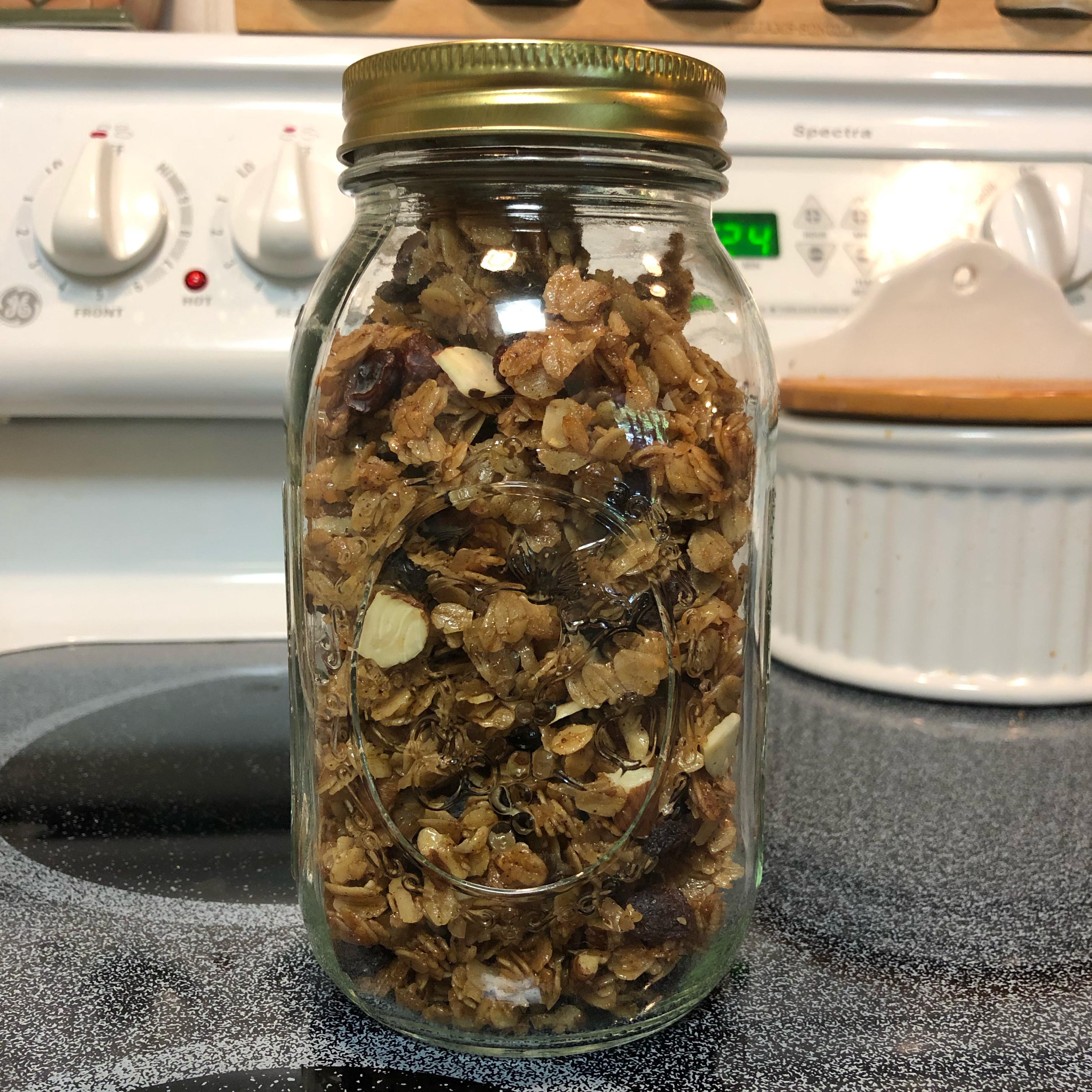 Grandma's Homemade Granola julie