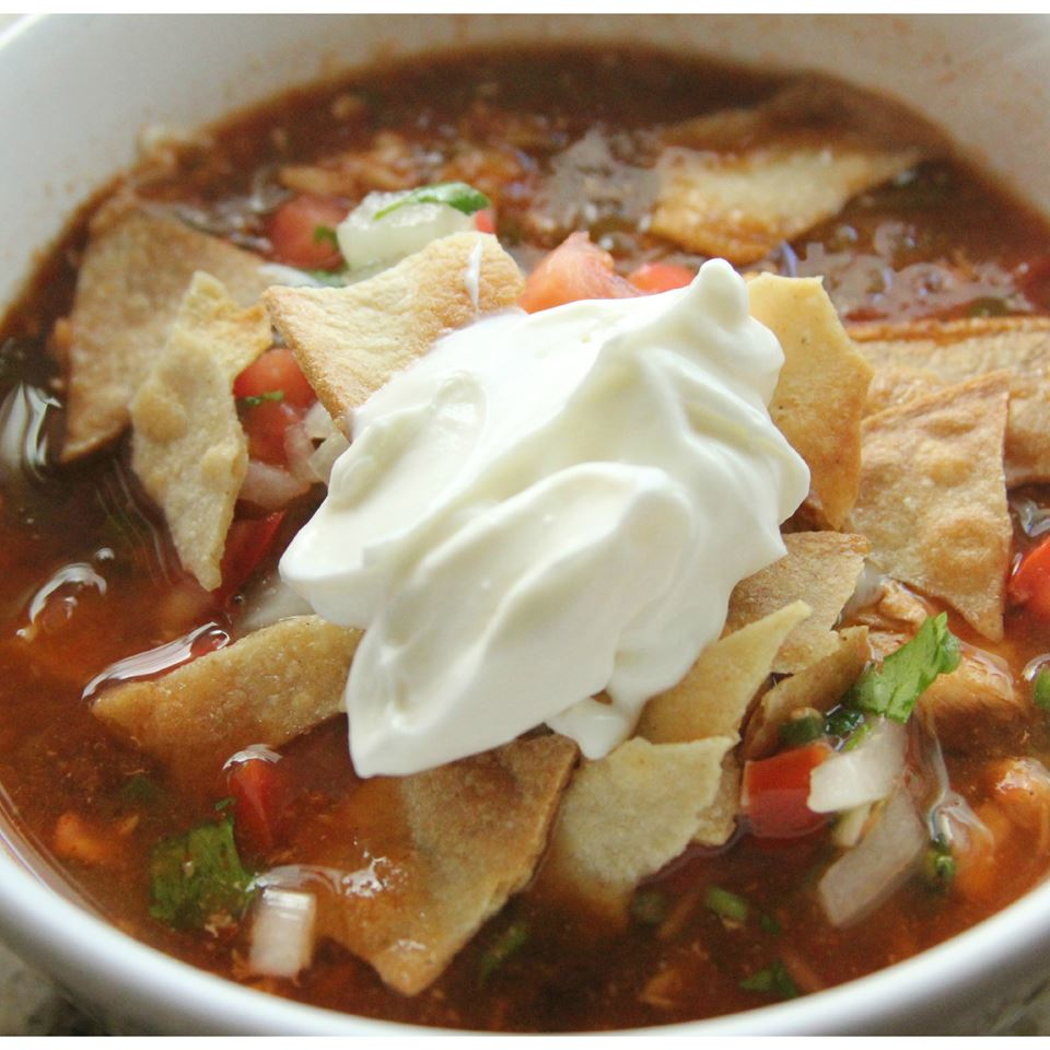 Slow-Cooker Chicken Tortilla Soup chanelliman