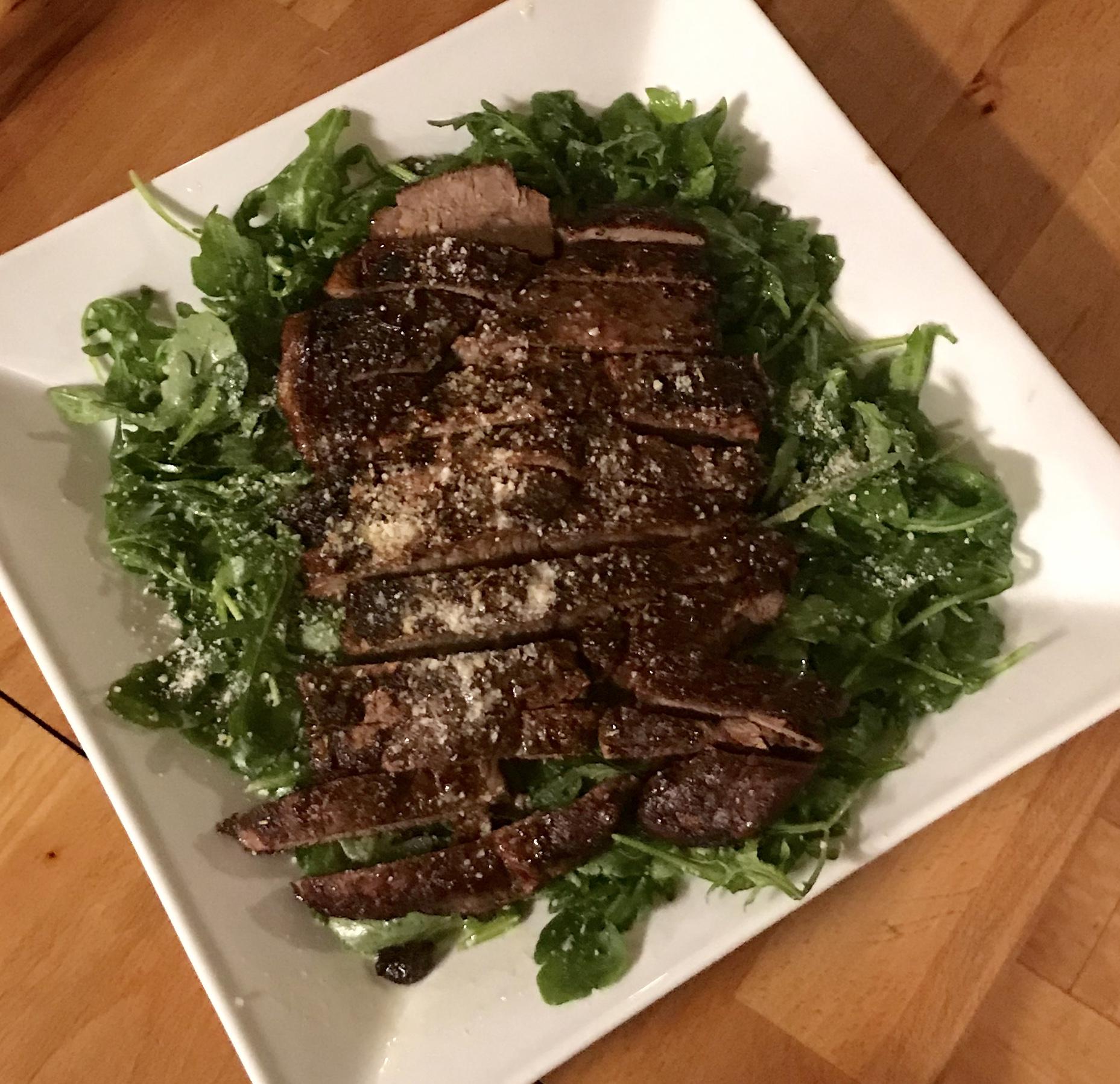 Oven-Baked Beef Tagliata FrackFamily5 CA—>CT