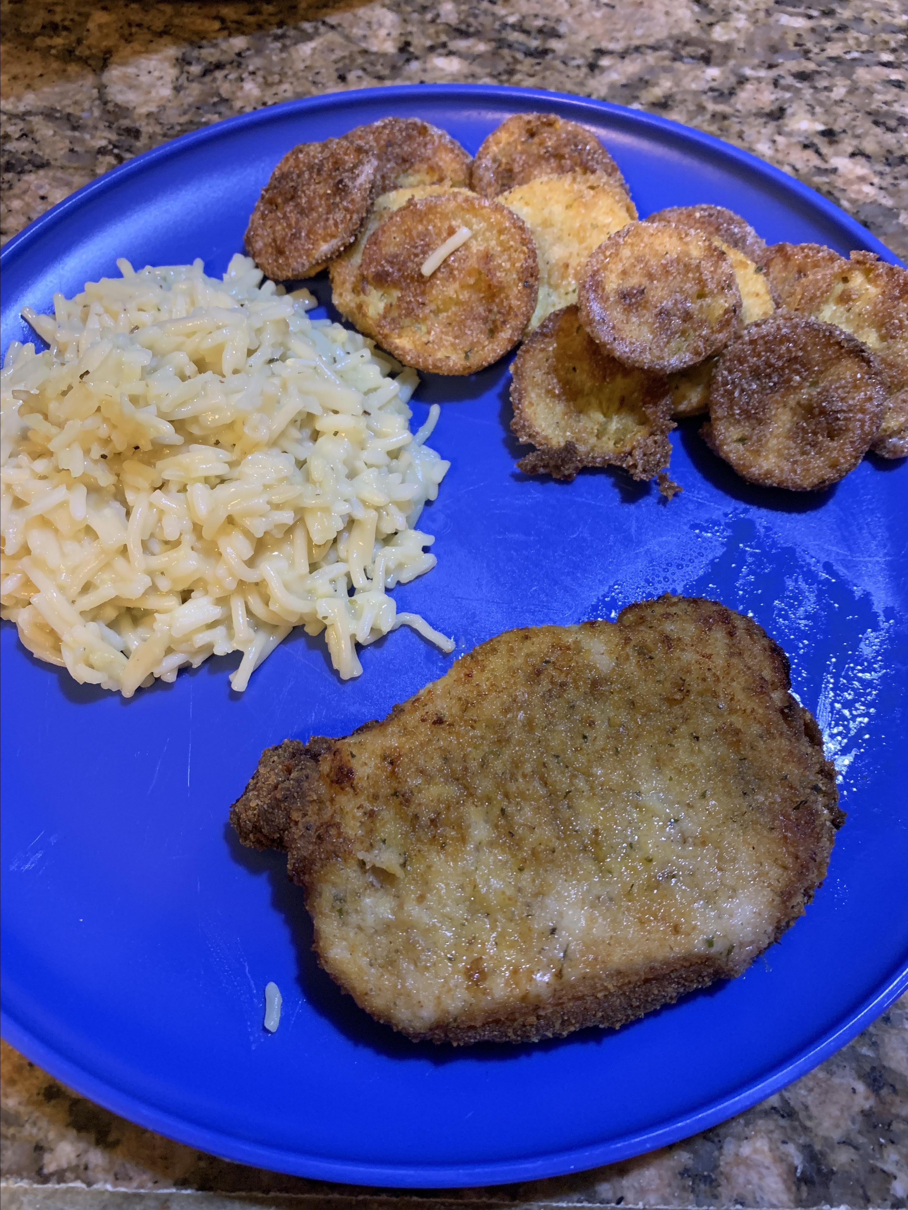 Breaded Air Fryer Pork Chops Ronda Rosenfeld