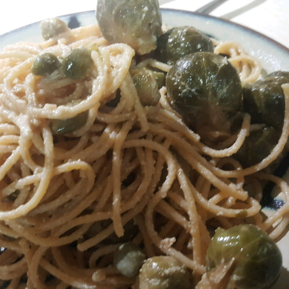 Brussels Sprout Spaghetti Colleen Seal