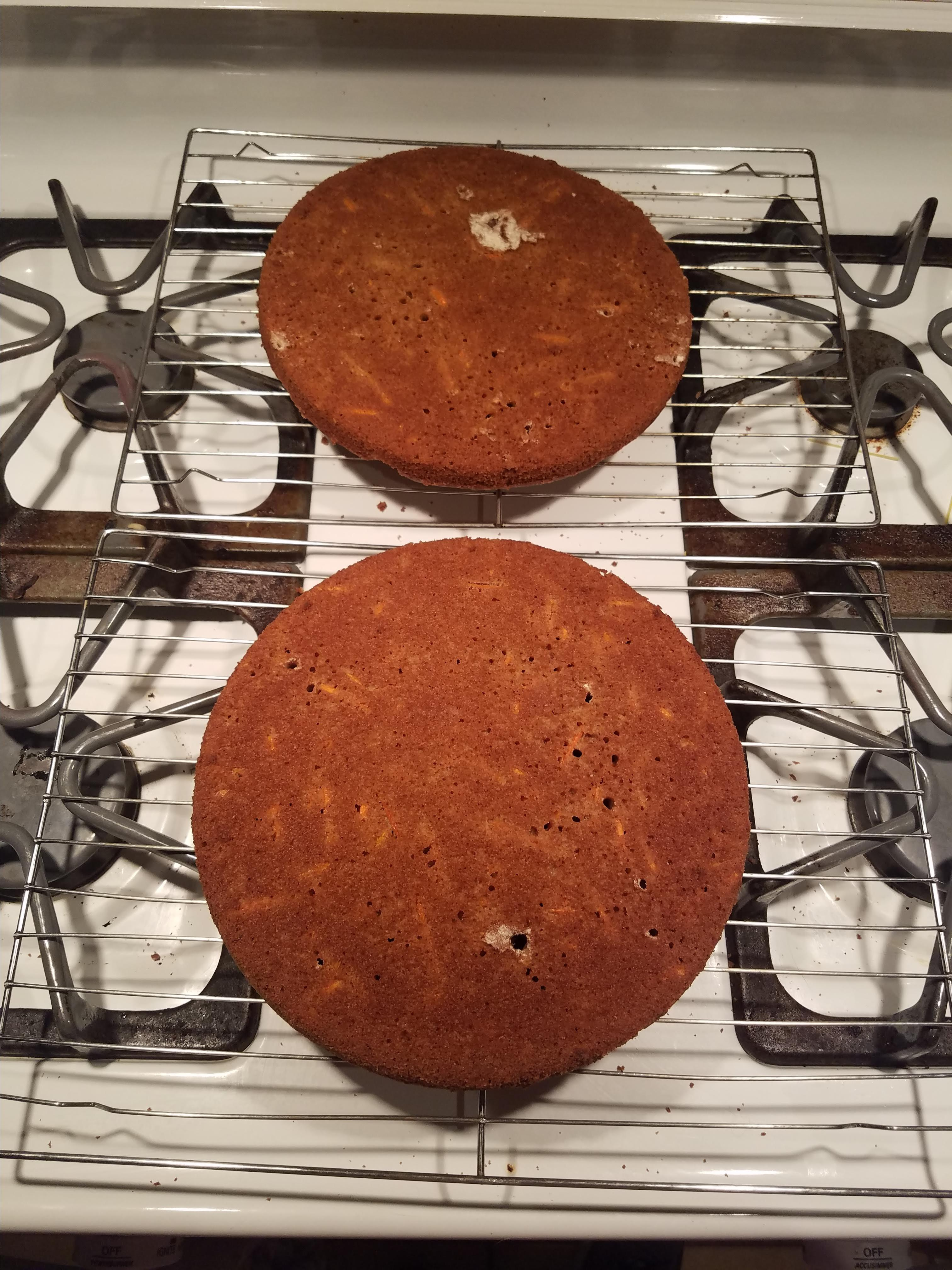 Lite Carrot Cake