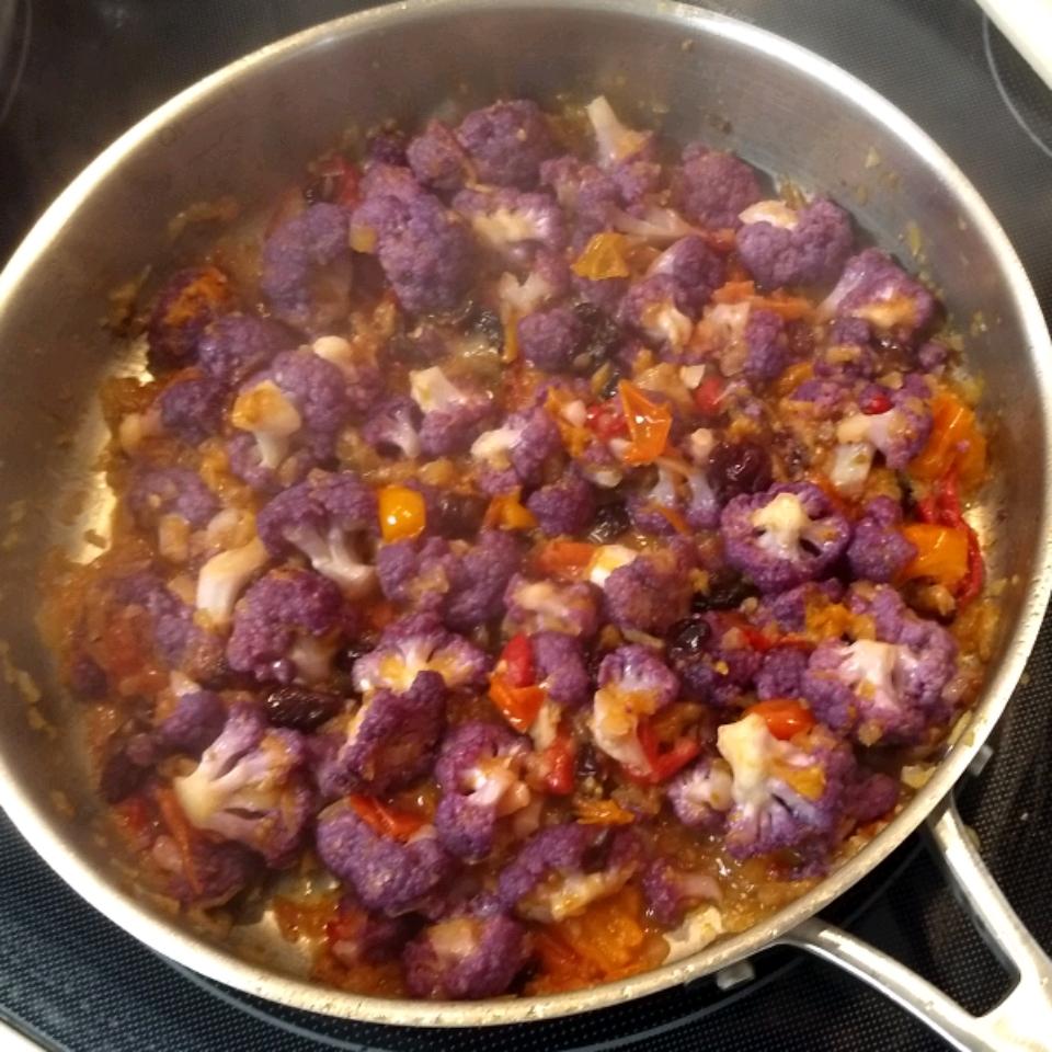 Sauteed Cauliflower Delight Tom