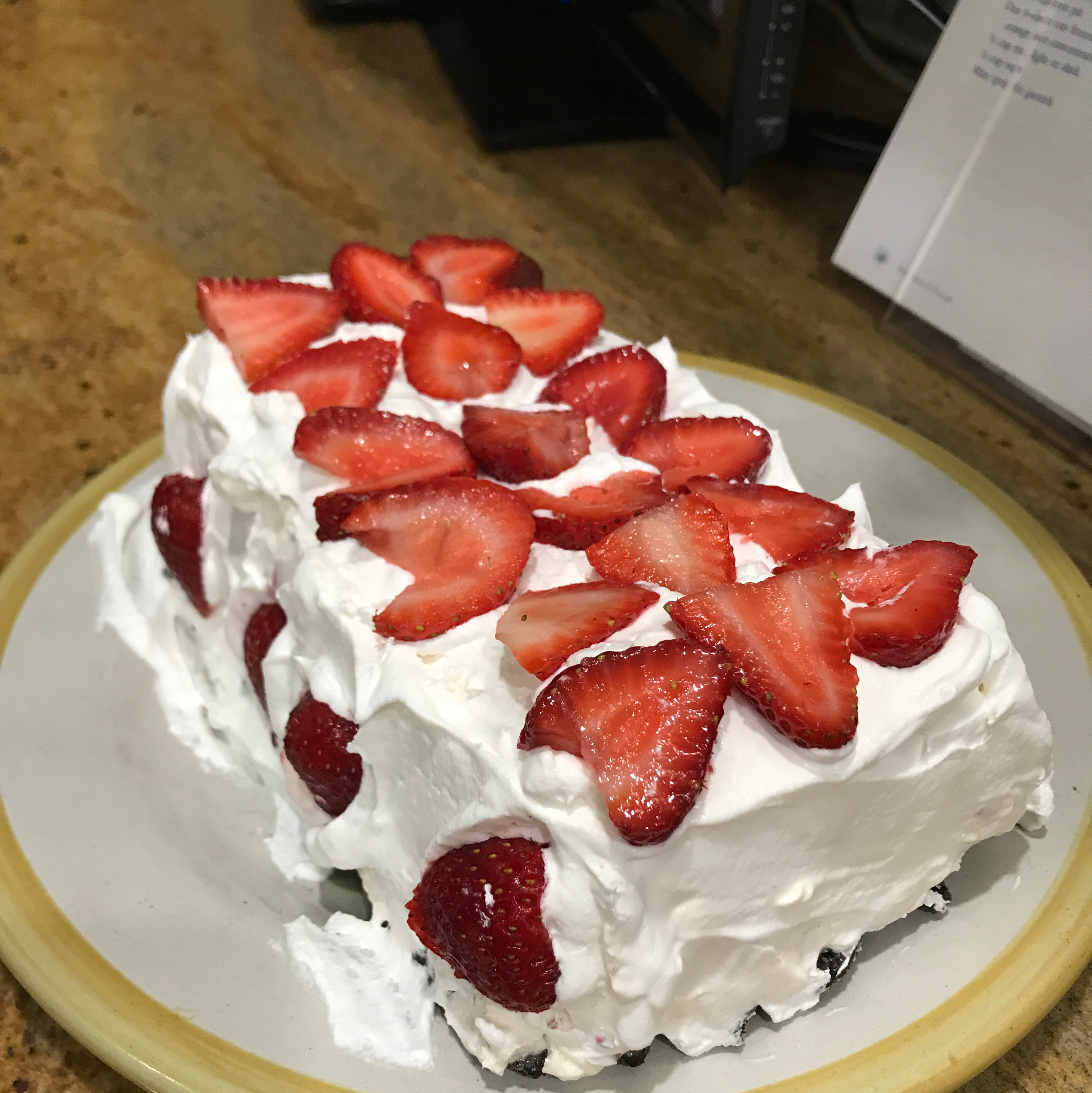 Strawberry Whipped Sensation Cool Whip