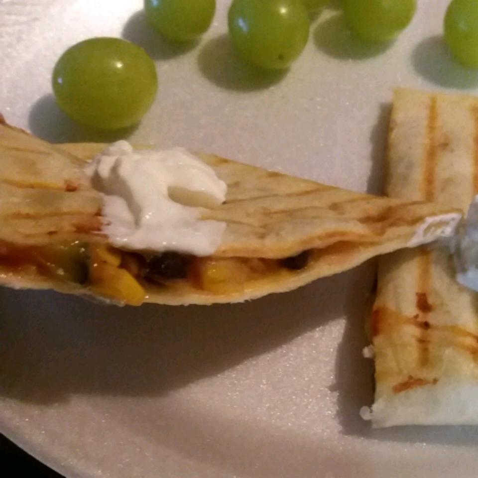 Black Bean and Corn Quesadillas Missy R.