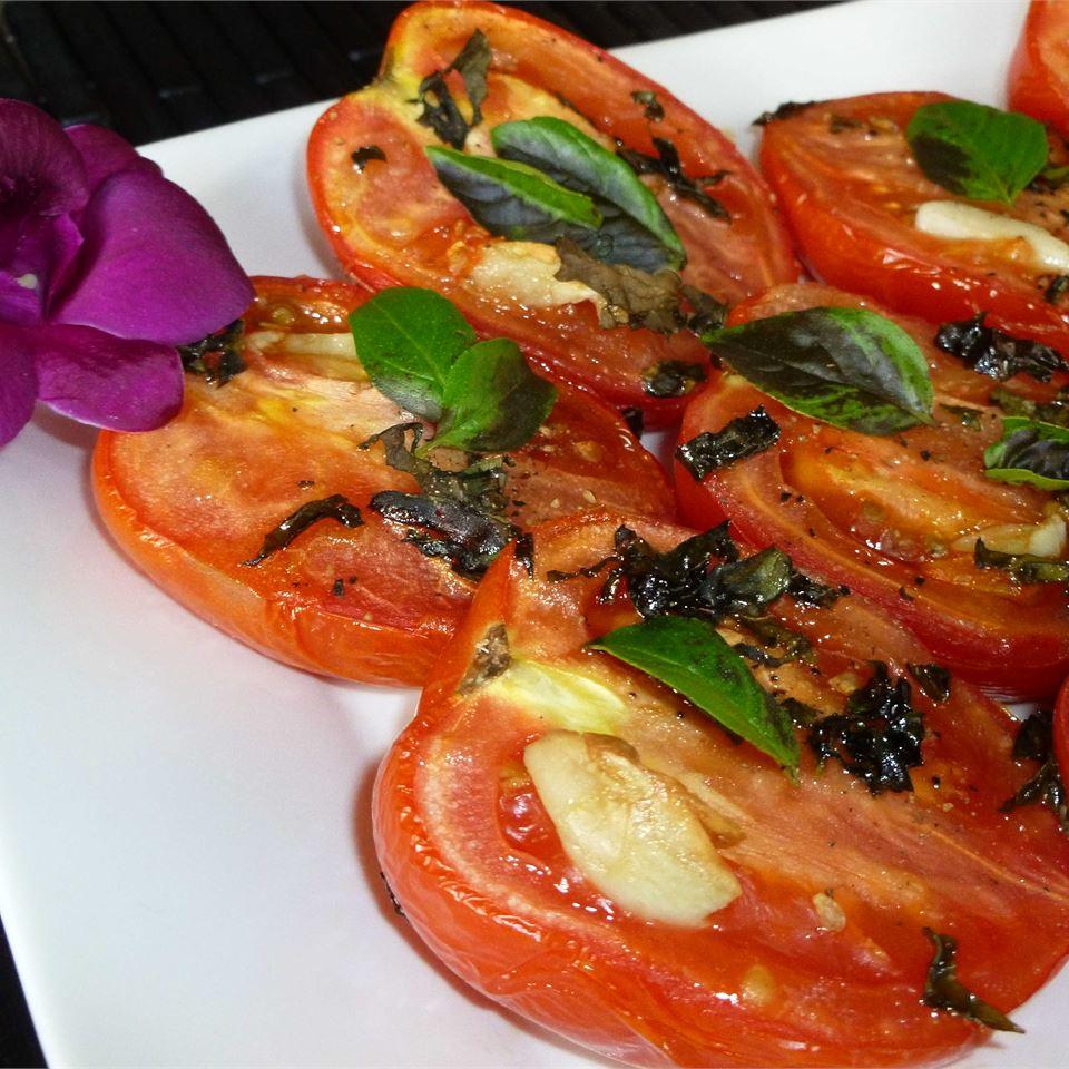 Roasted Roma Tomatoes and Garlic OkinawanPrincess