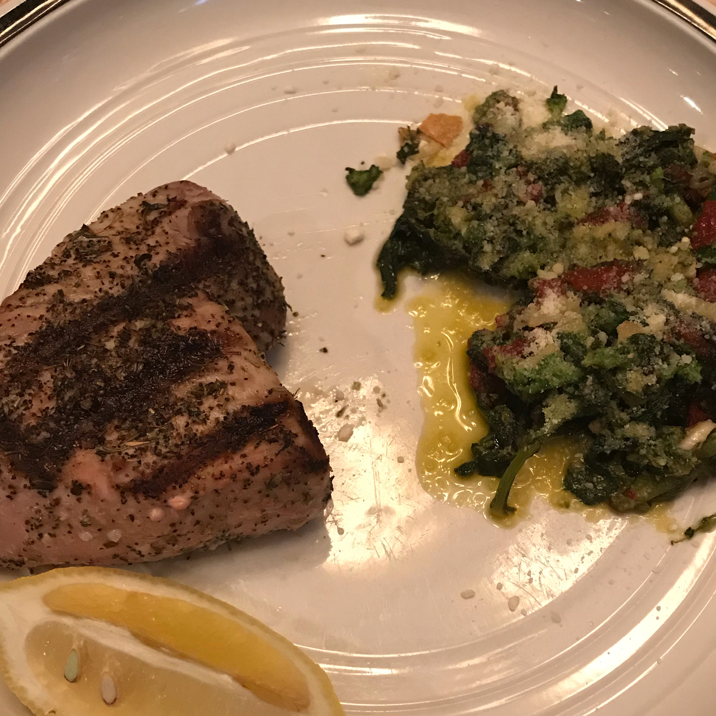 Broccoli Rabe with Roasted Peppers mccluskey64