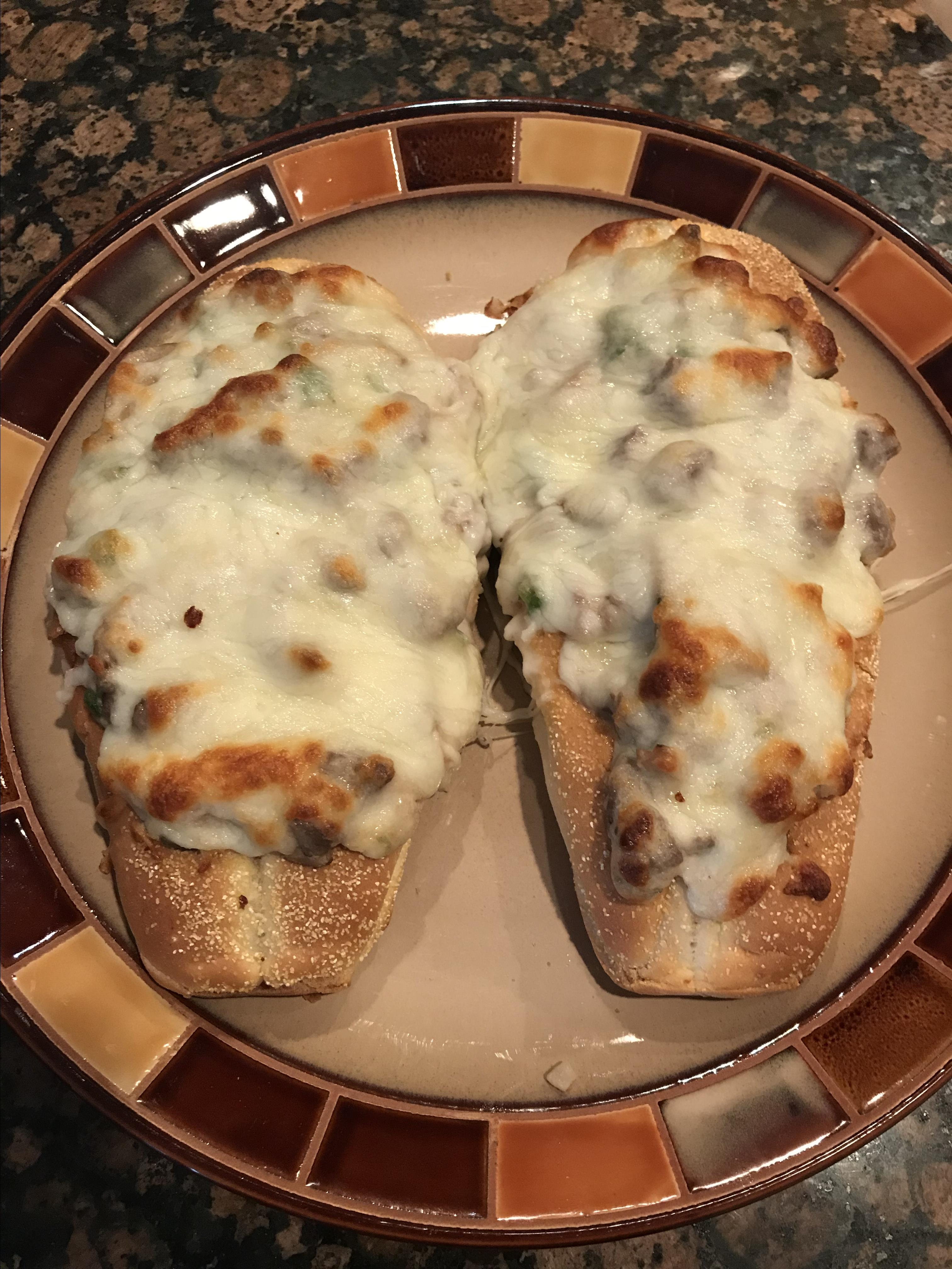 Baked Philly Cheesesteak Sliders Andrea