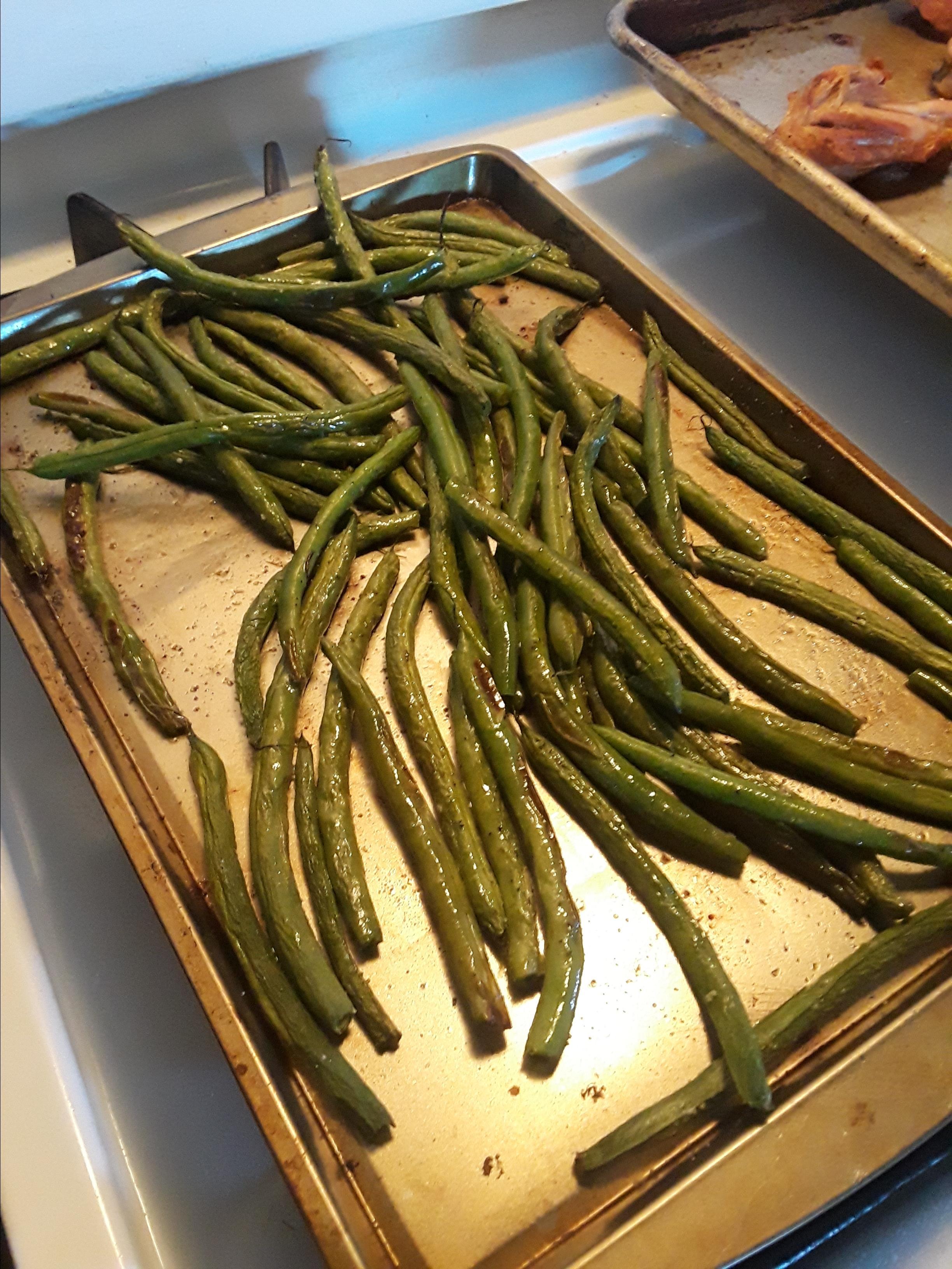 Roasted Green Beans Rebecca Hernandez