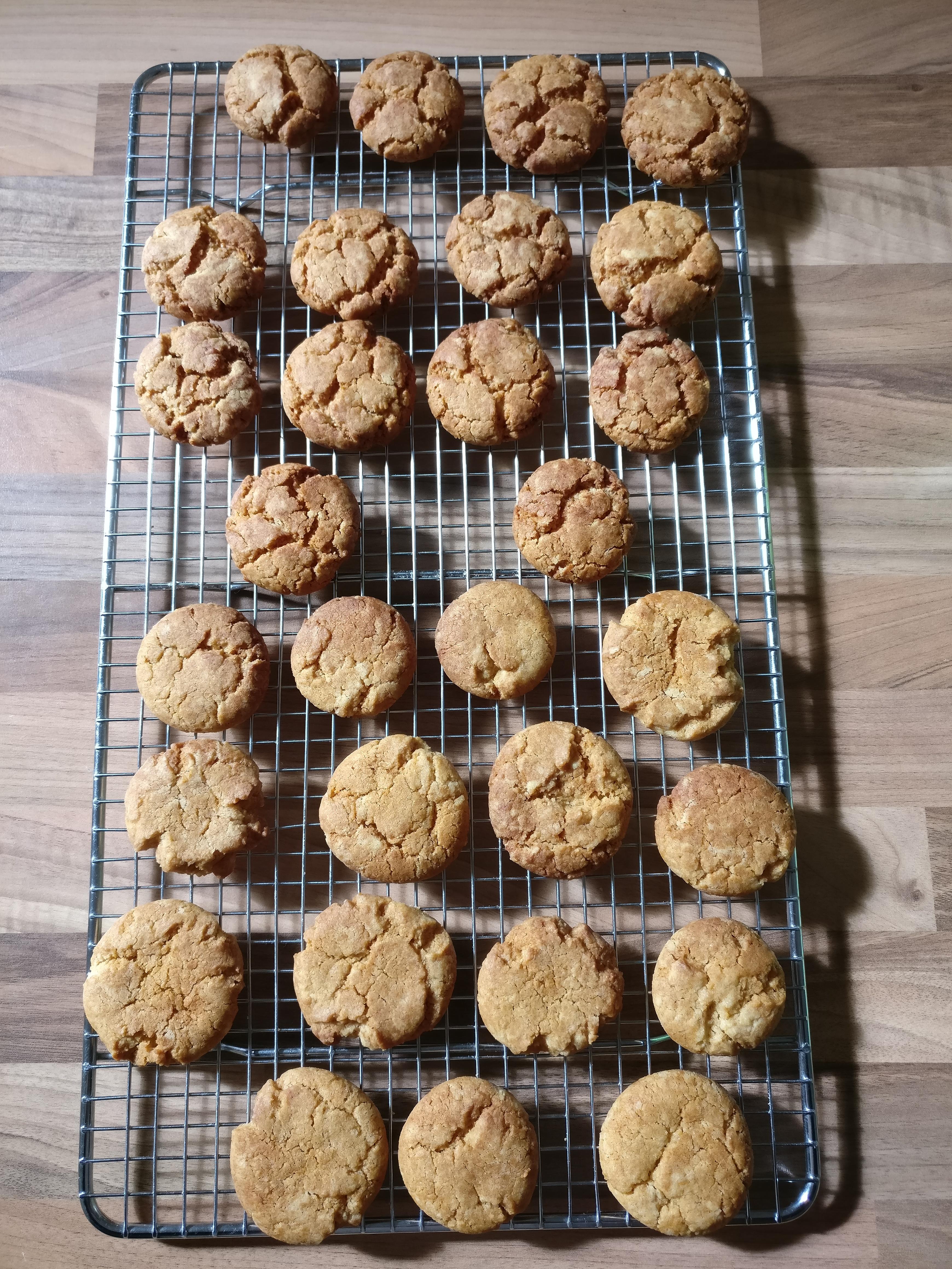 Hard Ginger Nut Biscuits