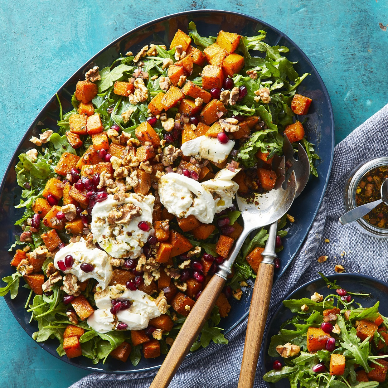 Roasted Butternut Squash Salad with Burrata Trusted Brands