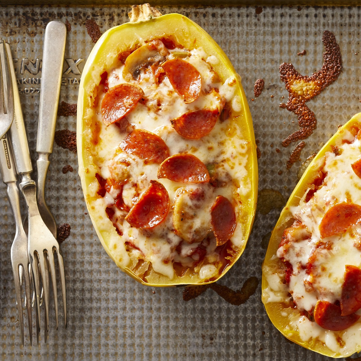 Pizza-Stuffed Spaghetti Squash Trusted Brands
