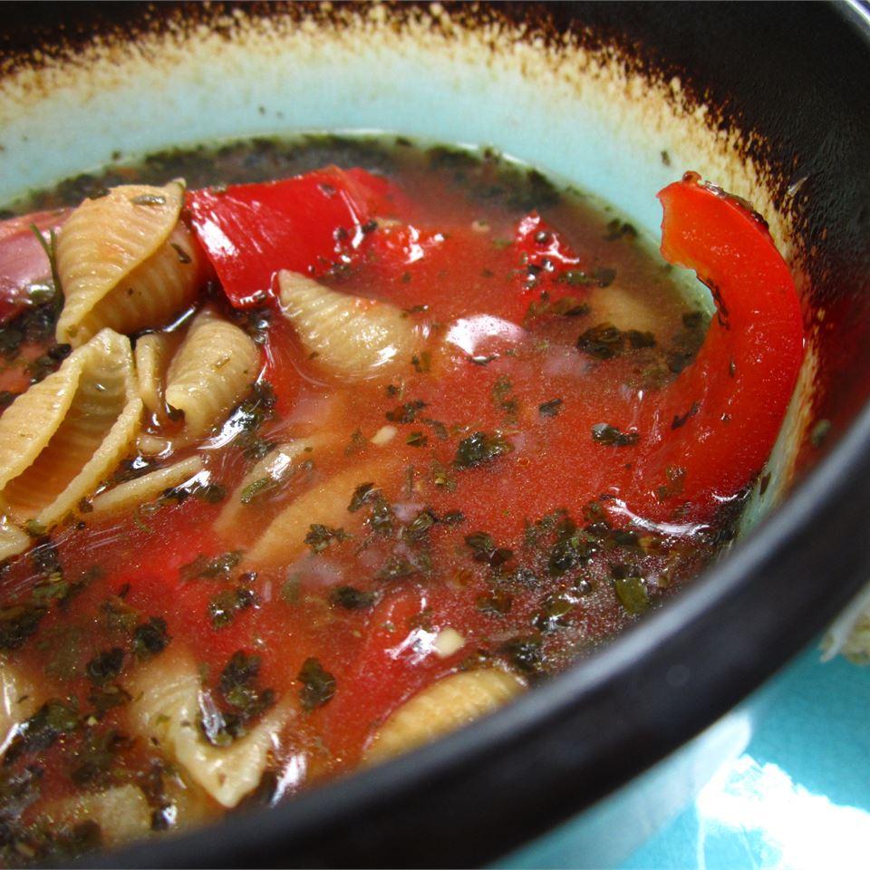 Garbanzo Bean and Sausage Stew
