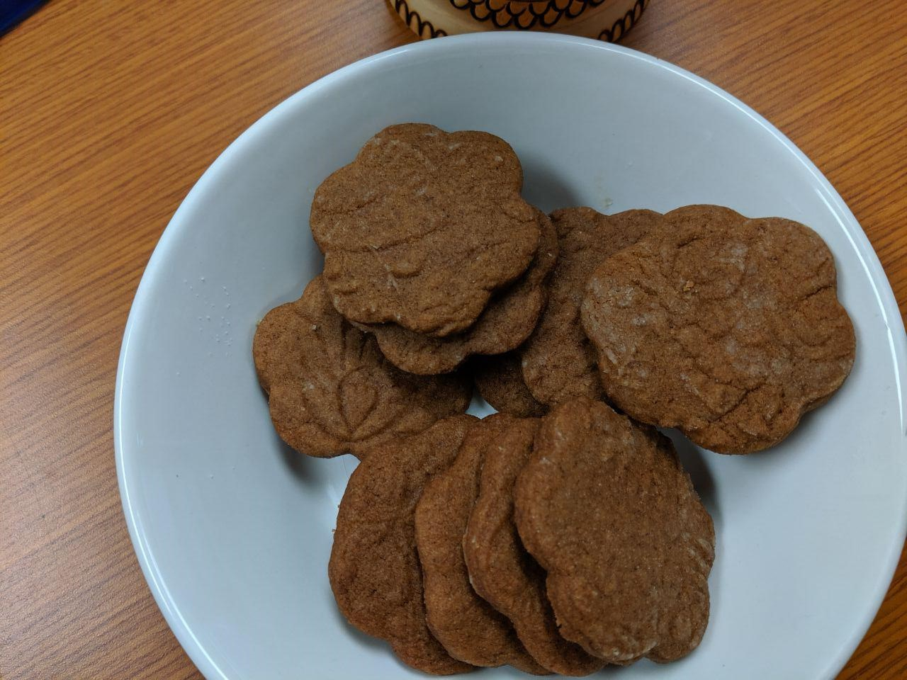 Easy Vegan Gingerbread Cookies Lady at the Stove