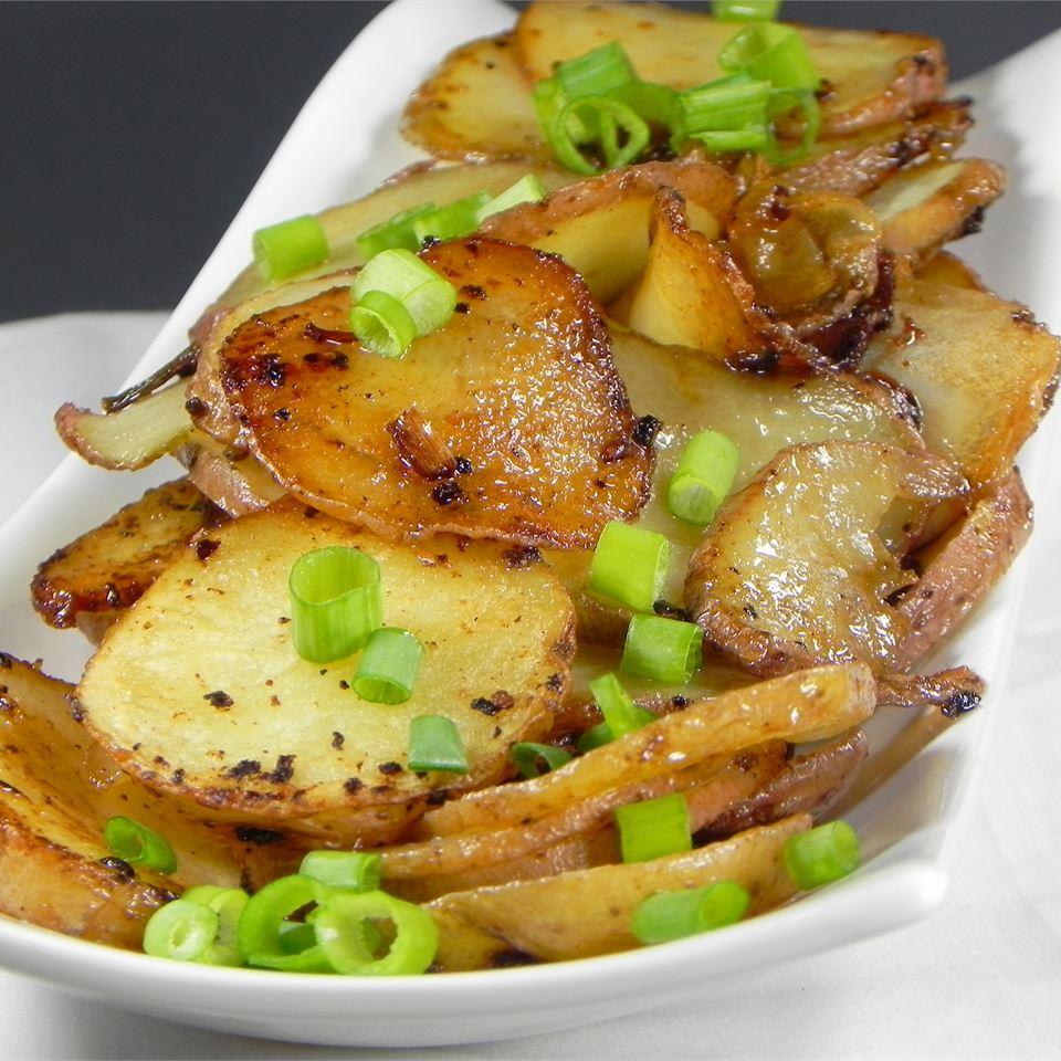 BBQ Potatoes with Green Onions Soup Loving Nicole