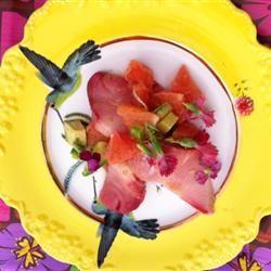Lisa's Grapefruit and Avocado Salad Lisawas