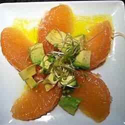 lisas grapefruit and avocado salad recipe
