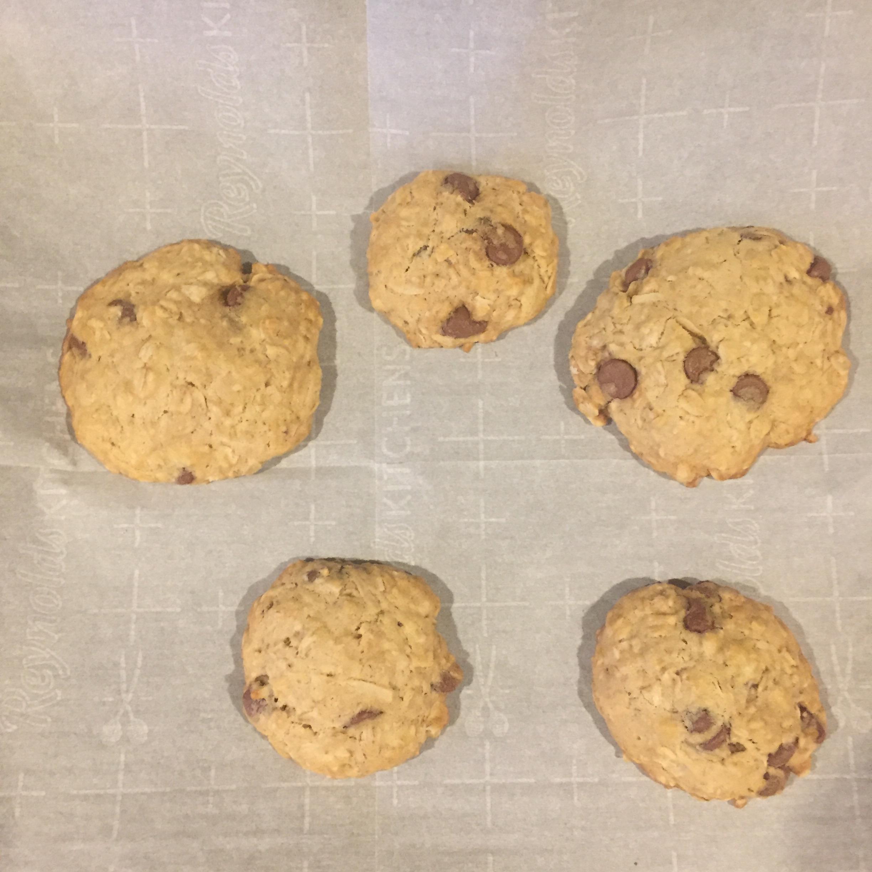 Coconut Oatmeal Cookies II ilonalu