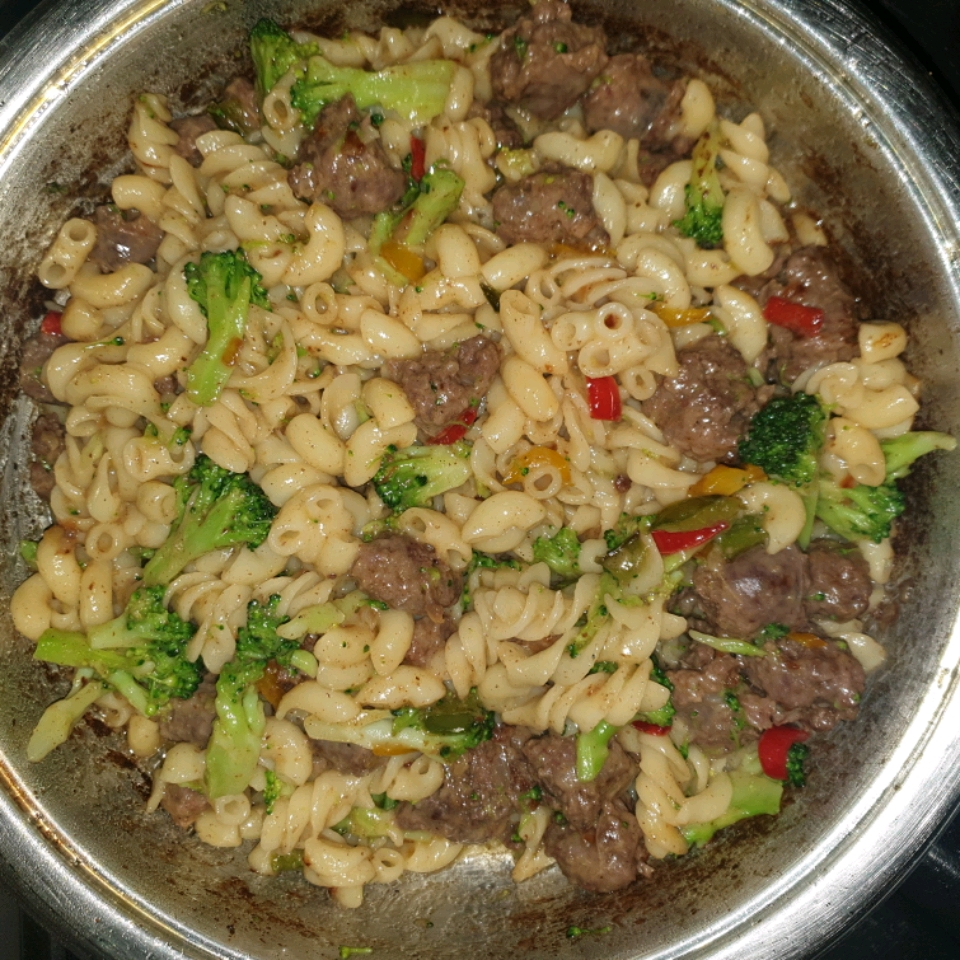 Orcchiette Pasta with Broccoli Rabe and Sausage bokenbaker