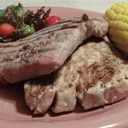 Grilled Tropical Tuna Steaks AcaCandy