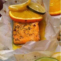 Citrus Salmon in Parchment SuzysMommy
