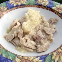 Old Fashioned Chicken and Dumplings