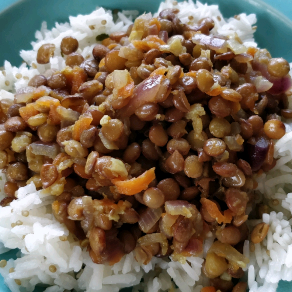 Mujadarra (Lentils with Rice) Tanja B
