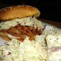 BBQ Pork for Sandwiches Lindsey