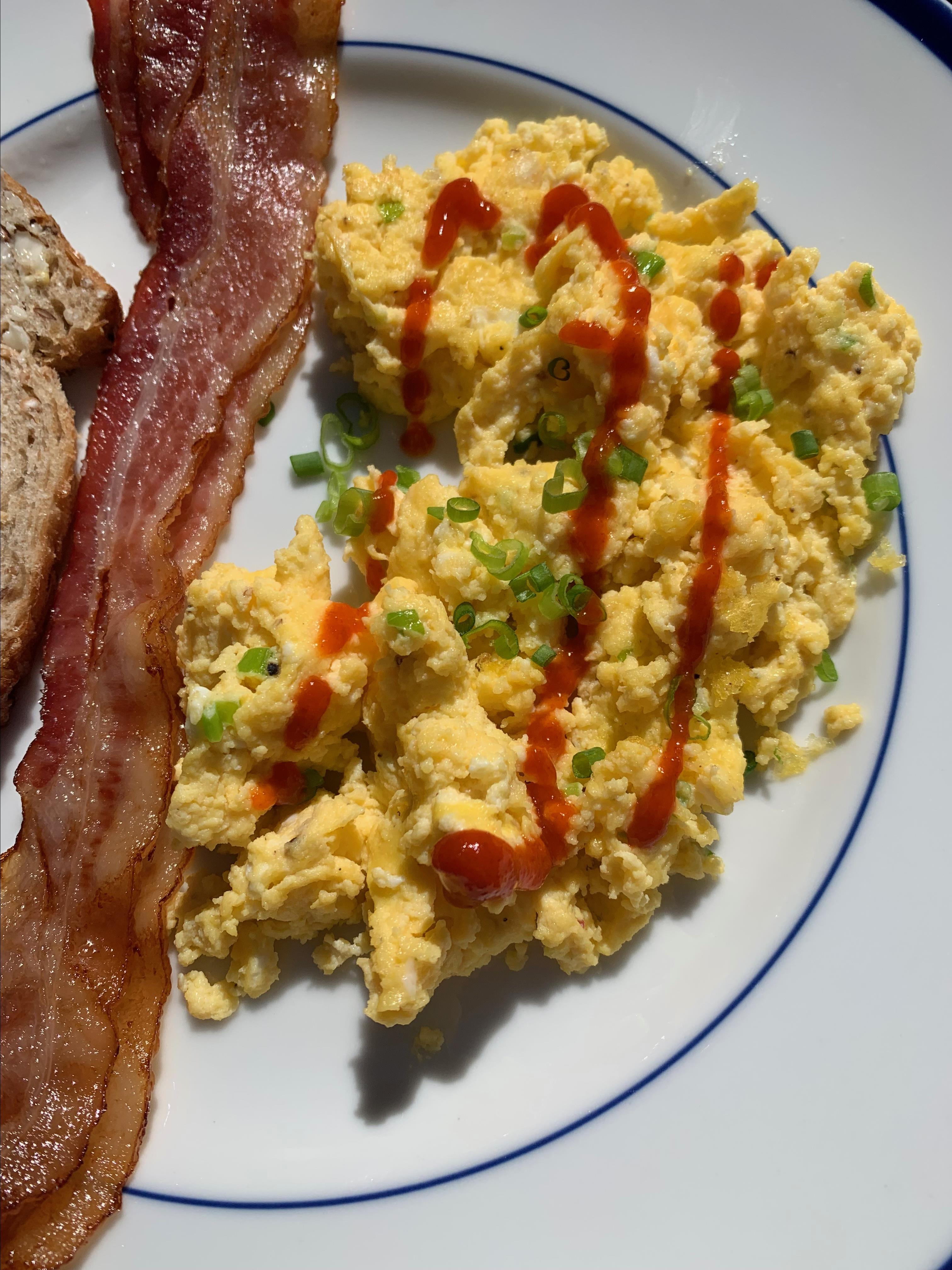 On-the-Farm Scrambled Eggs Howard