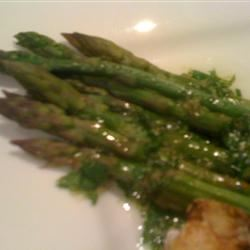 Asparagus with Lime and Ginger TerryWilson