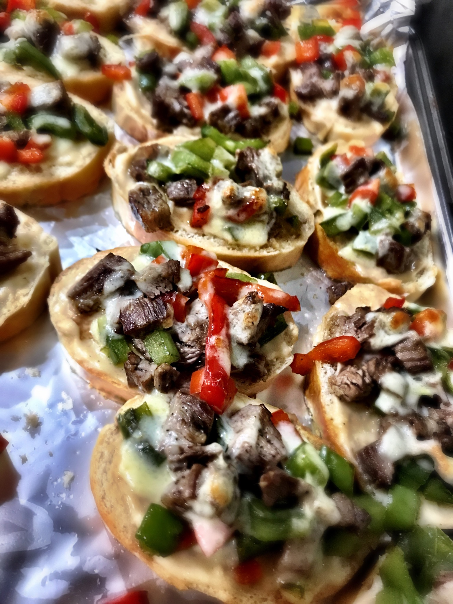 Mini Philly Cheesesteaks PNickM