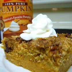 Pumpkin Crunch Cake Molly