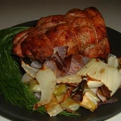 Roasted Pork, Fennel, and Onions Christine L.
