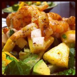 Jicama and Pineapple Salad in a Cilantro Vinaigrette SuzysMommy