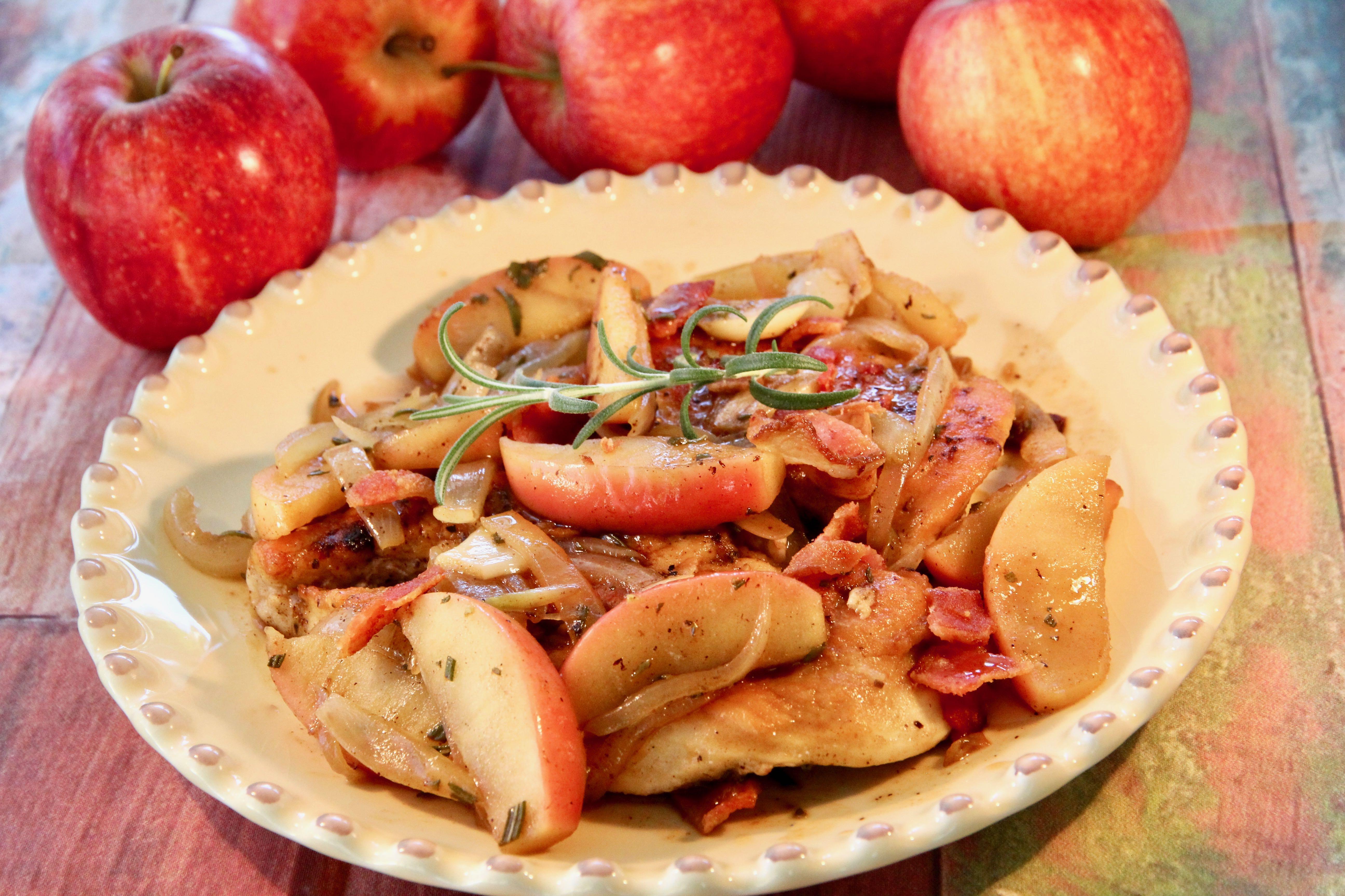 Apple-Rosemary Chicken