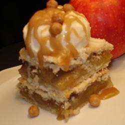 Danish Pastry Apple Bars I Shearone