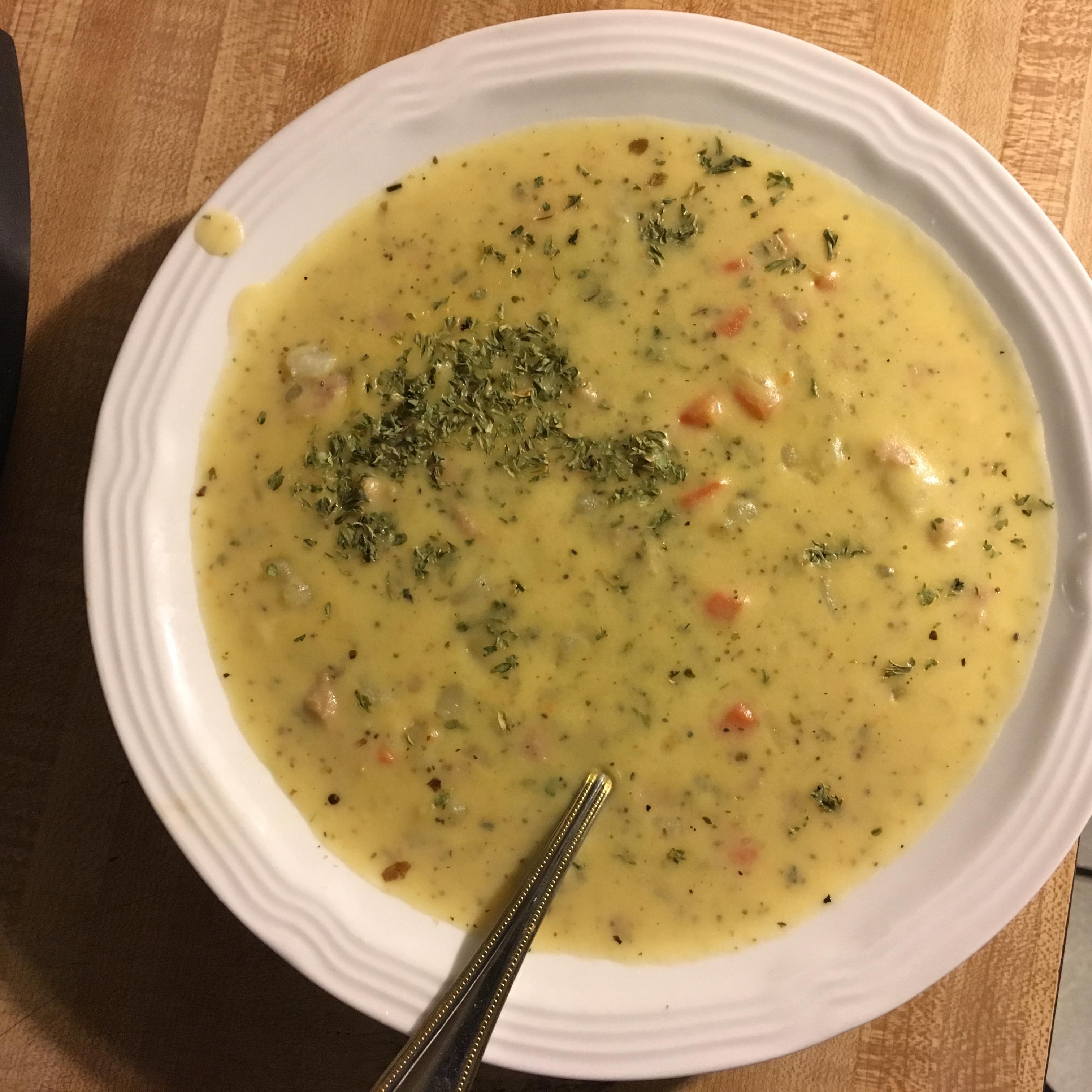 Cheesy Potato Soup II Nancy