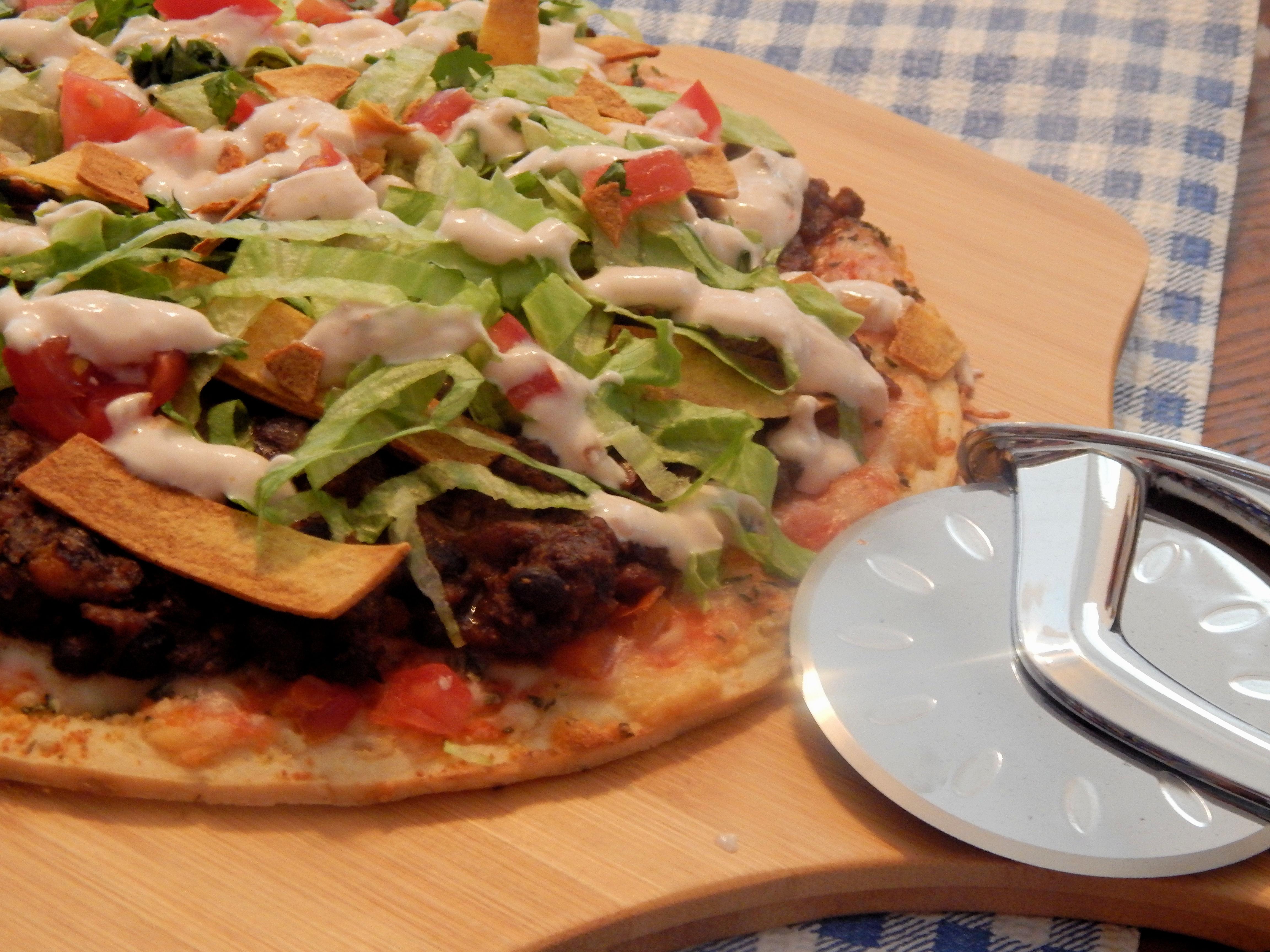 Taco Salad Pizza Linda T