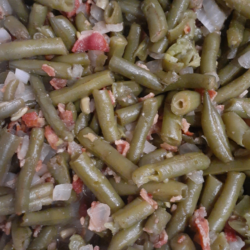 Spicy and Sweet Green Beans
