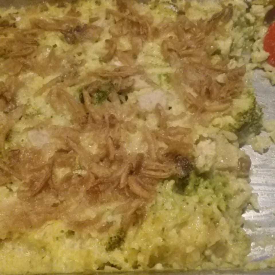Pork, Broccoli and Rice Casserole JULIE NOYES