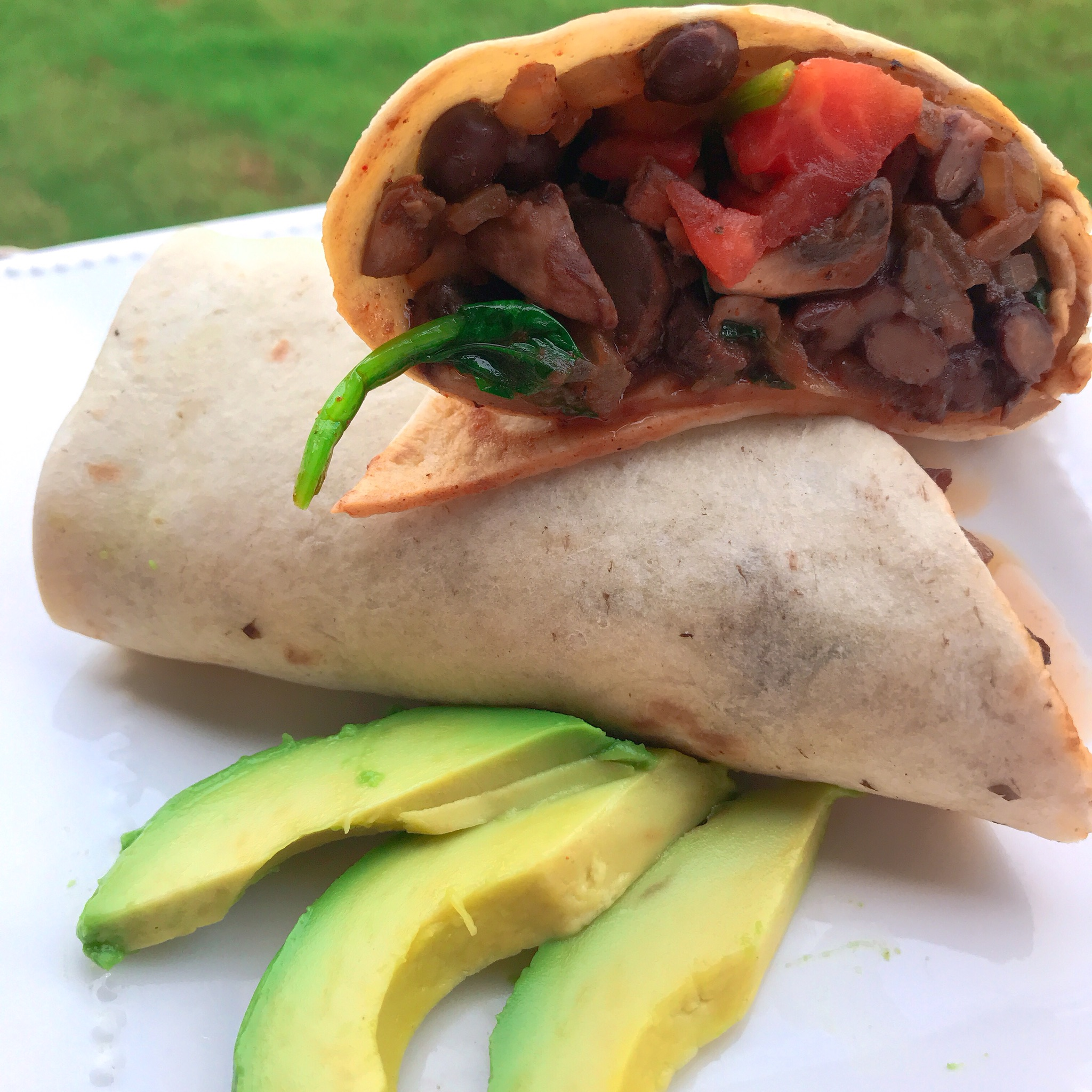 Full-of-Veggies Burritos