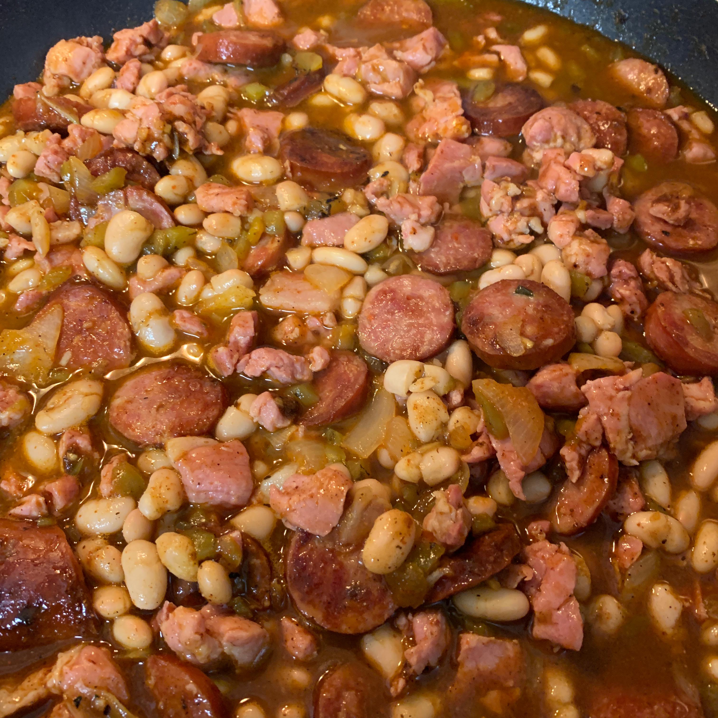 Smoked Sausage White Bean Chili