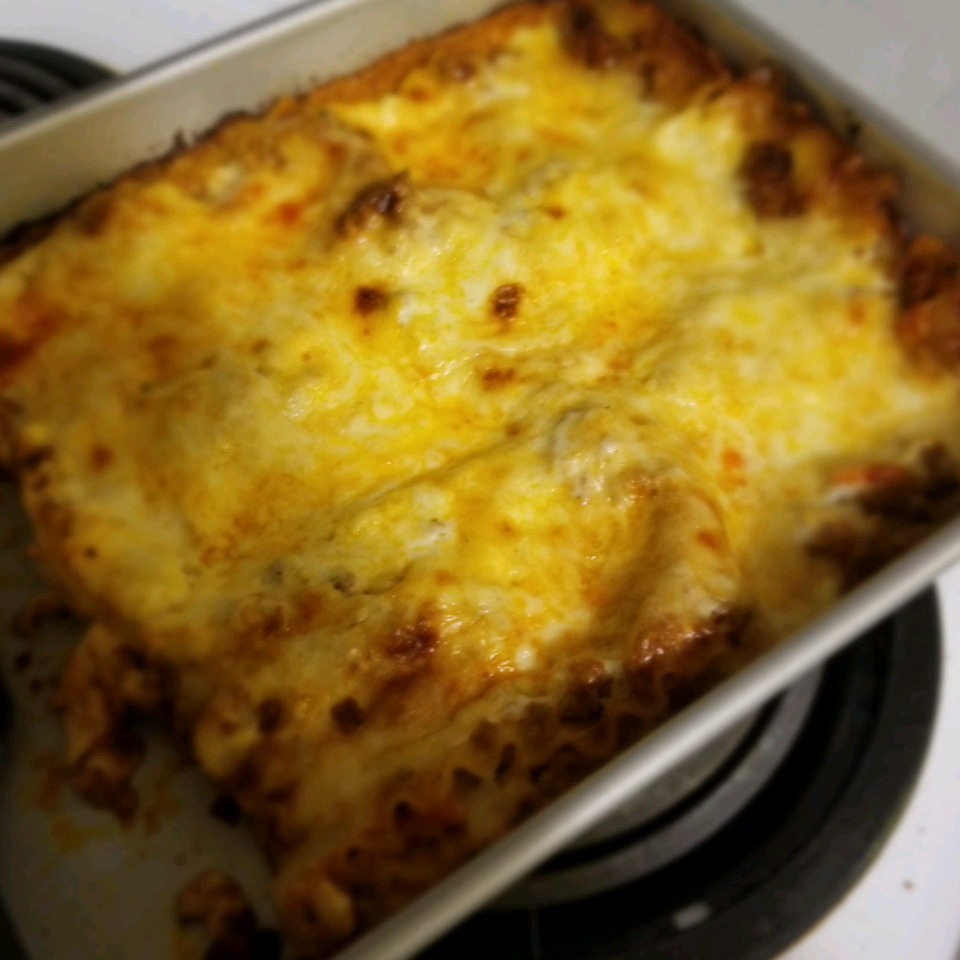 Oven-Ready Lasagna with Meat Sauce and Bechamel Barilla