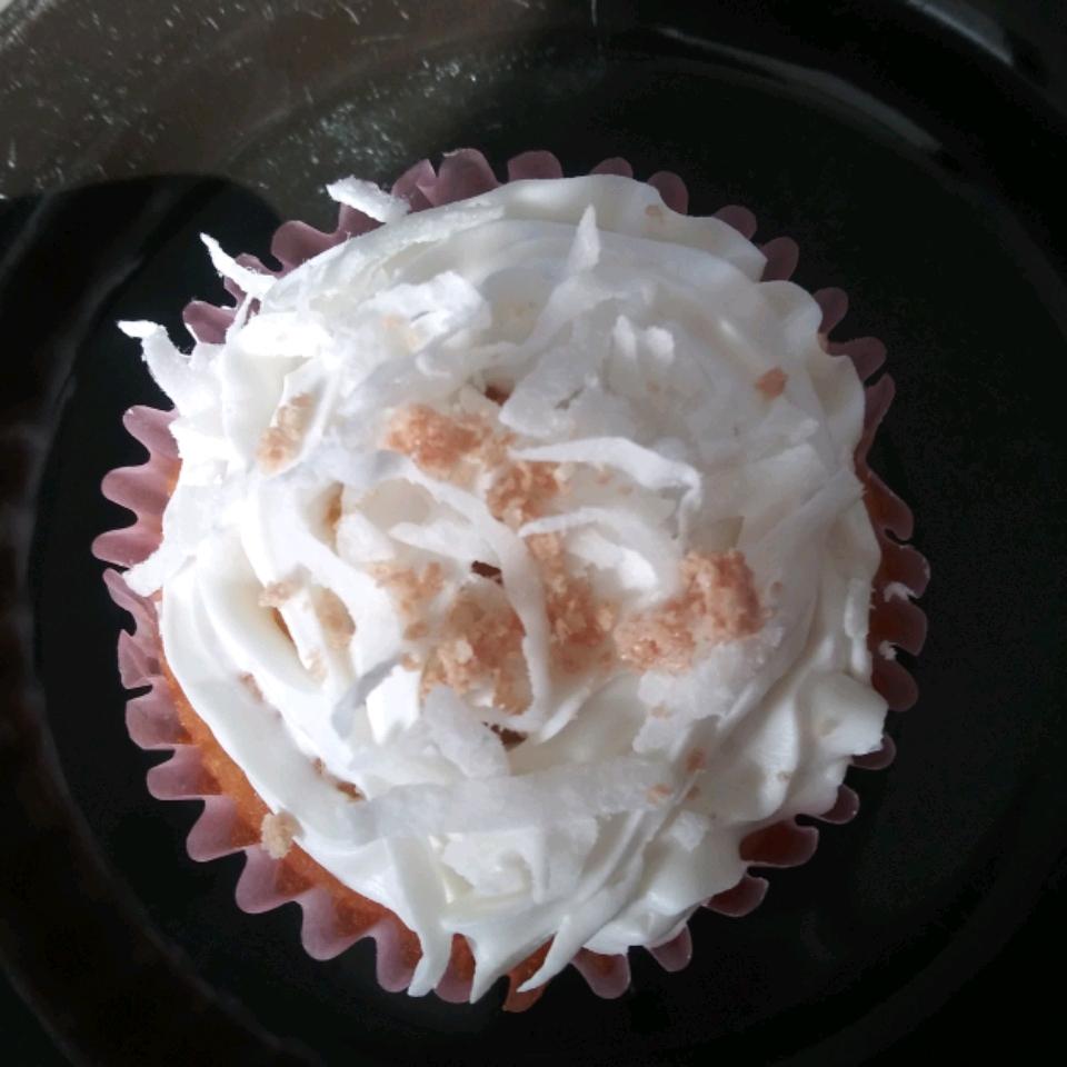 Vanilla Coconut Flour Cupcakes Elisabelle